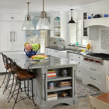 Cape Cod Classic Kitchen