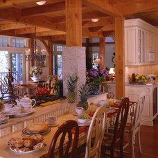 Craftsman Kitchen by Timberpeg