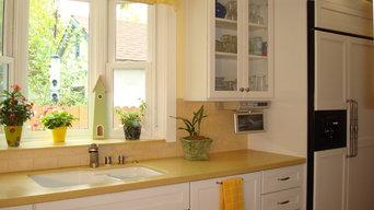Cape Cod kitchen remodel in Pasadena, CA