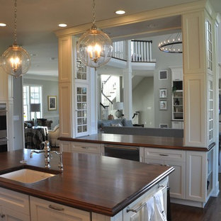 Kitchen - traditional kitchen idea in Philadelphia