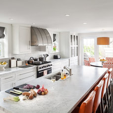 Transitional Kitchen by Irvin Serrano
