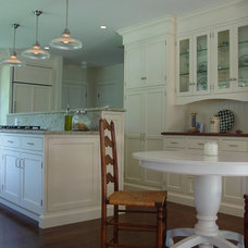 Traditional Kitchen by Robin Amorello, CKD CAPS - Atmoscaper Design