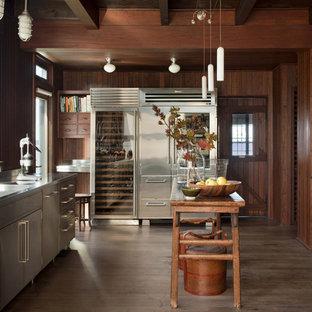 Stainless Steel Kitchen Cabinets | Houzz