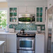 Beach Style Kitchen by PNB Interior Design, Inc.
