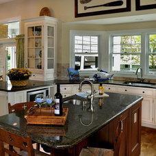 Traditional Kitchen by Lynne kaltman