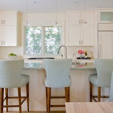 Beach Style Kitchen by Bartolomei & Company Interior Design