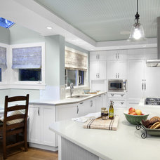 transitional kitchen by Klondike Contracting