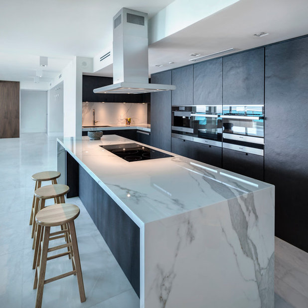 Contemporary Kitchen by QF Distribution