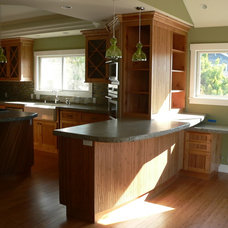 Tropical Kitchen by ML Custom Interiors