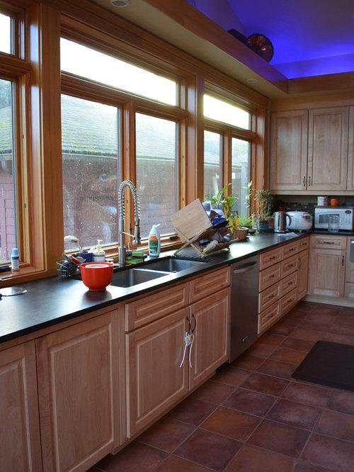 Craftsman Convert Garage Kitchen Design Ideas & Remodel Pictures ...