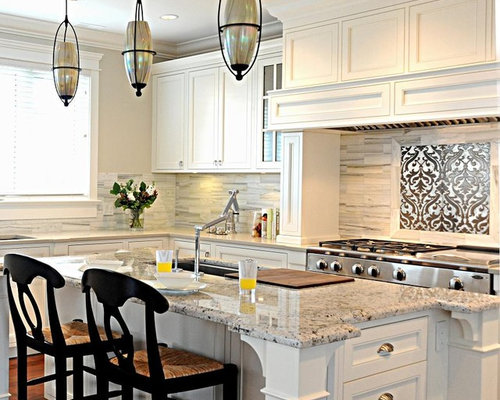 Carrera marble backsplash ideas, pictures, remodel and decor