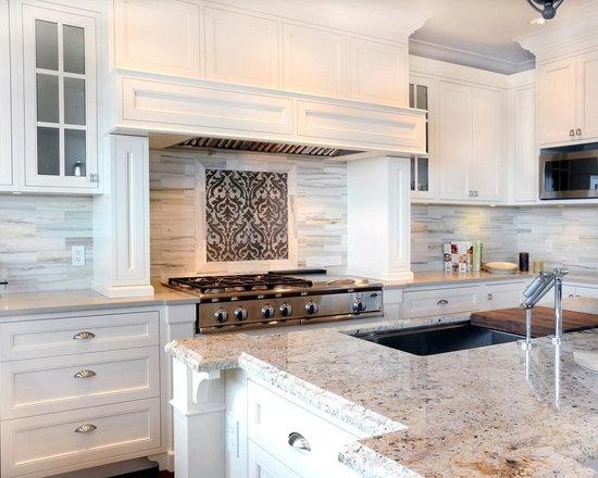 Kitchen Backsplash How High where to end backsplash inside kitchen backsplash end | design