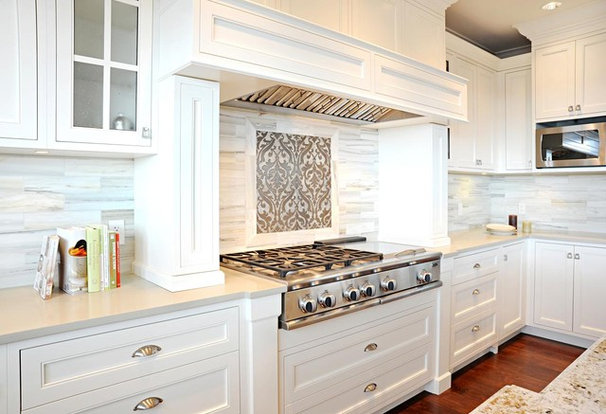 Transitional Kitchen by Enviable Designs Inc.