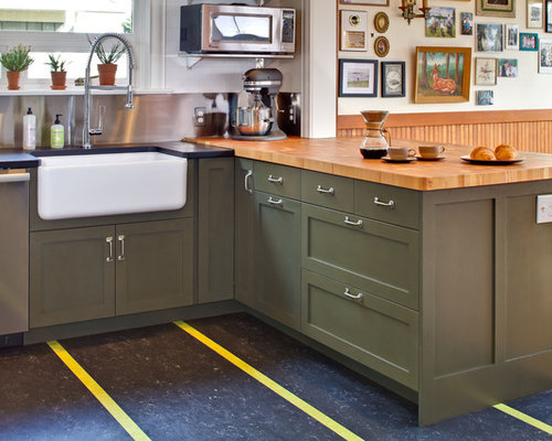 Mixed Countertops Houzz