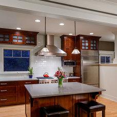 Craftsman Kitchen by Axiom Design Build