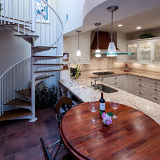 Transitional Kitchen by Voell Custom Kitchens