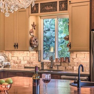 Captivating Copper Kitchen
