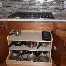 Transitional Kitchen by Jennifer Thompson