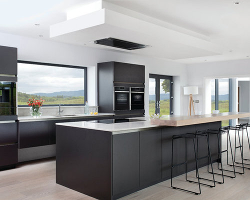 Modern Kitchen Design Ideas, Renovations & Photos With Black