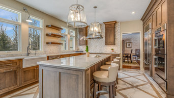 Cardinal Drive Kitchen and Master Suite