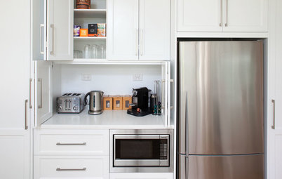 Sneaky Storage Ideas for Small Appliances