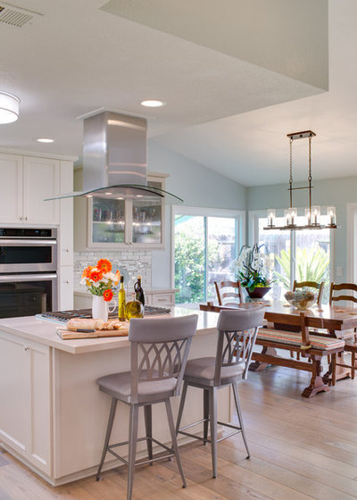 Beach Style Kitchen by Karen Cole Designs
