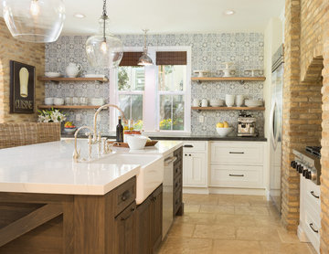 Carlsbad -Farmhouse White Kitchen Remodel