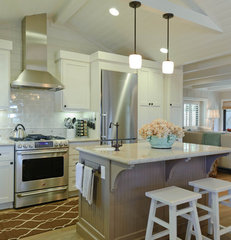 traditional kitchen by Regan Baker Design