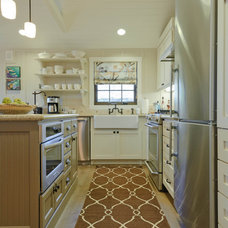 Beach Style Kitchen by Regan Baker Design