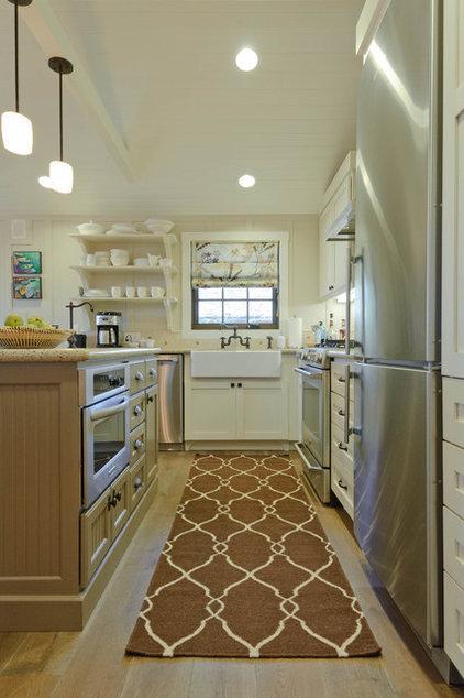 Beach Style Kitchen by Regan Baker Design