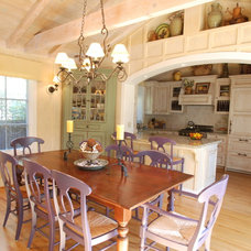 Farmhouse Kitchen by Walden Design Group - Cynthia Walden