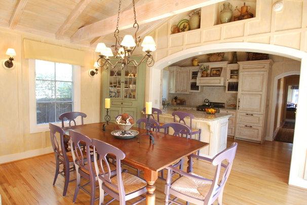 Farmhouse Kitchen by Walden Design Group - Cynthia Walden