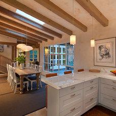 Contemporary Kitchen by Lehman Design Studio