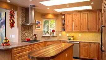 Carmel / Southwest Knotty Cherry Kitchen