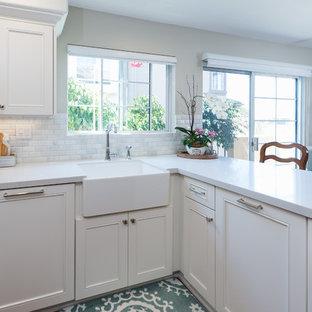 Carmel Valley, Classic White Kitchen