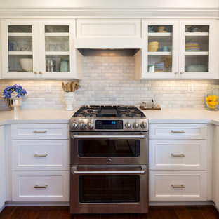 Carmel Valley, Classic White Kitchen