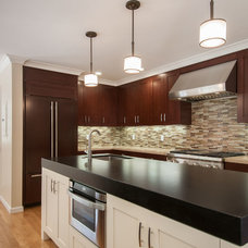 Transitional Kitchen by JDR Construction Company, Inc.