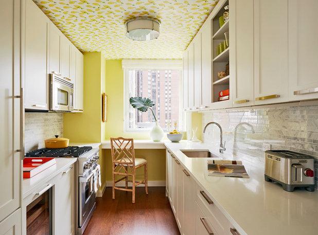 Transitional Kitchen by Christopher Maya Associates Inc.