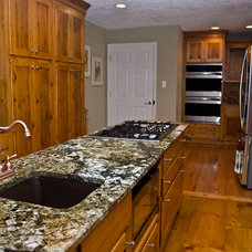 Eclectic Kitchen by Granite Grannies