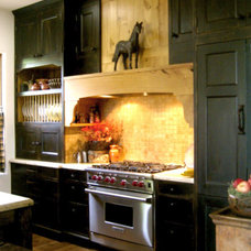 Eclectic Kitchen by CAROLE MEYER