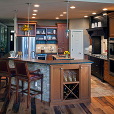 Rustic Kitchen by Packard Cabinetry of Hendersonville