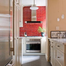 Eclectic Kitchen by Caroline Beaupere Design
