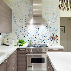 contemporary kitchen by Caroline Beaupere Design