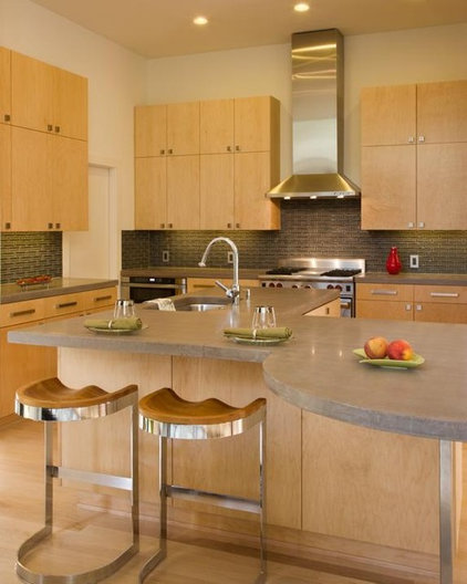 Contemporary Kitchen by Carolyn Albert-Kincl, ASID
