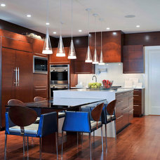 Contemporary Kitchen by Carolyn Miller Interiors