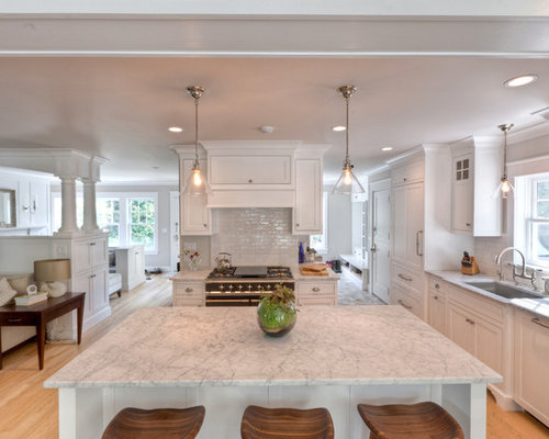 Carrara marble counter ideas pictures remodel and decor for How to care for carrara marble countertops