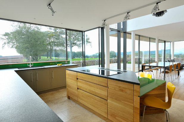 Contemporain Cuisine by Hall + Bednarczyk Architects