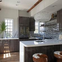 pool house kitchen