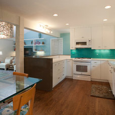 Contemporary Kitchen by Case Design & Remodeling Indy