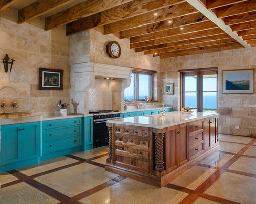 Mediterranean kitchen design ideas renovations photos for Alby turner kitchen designs
